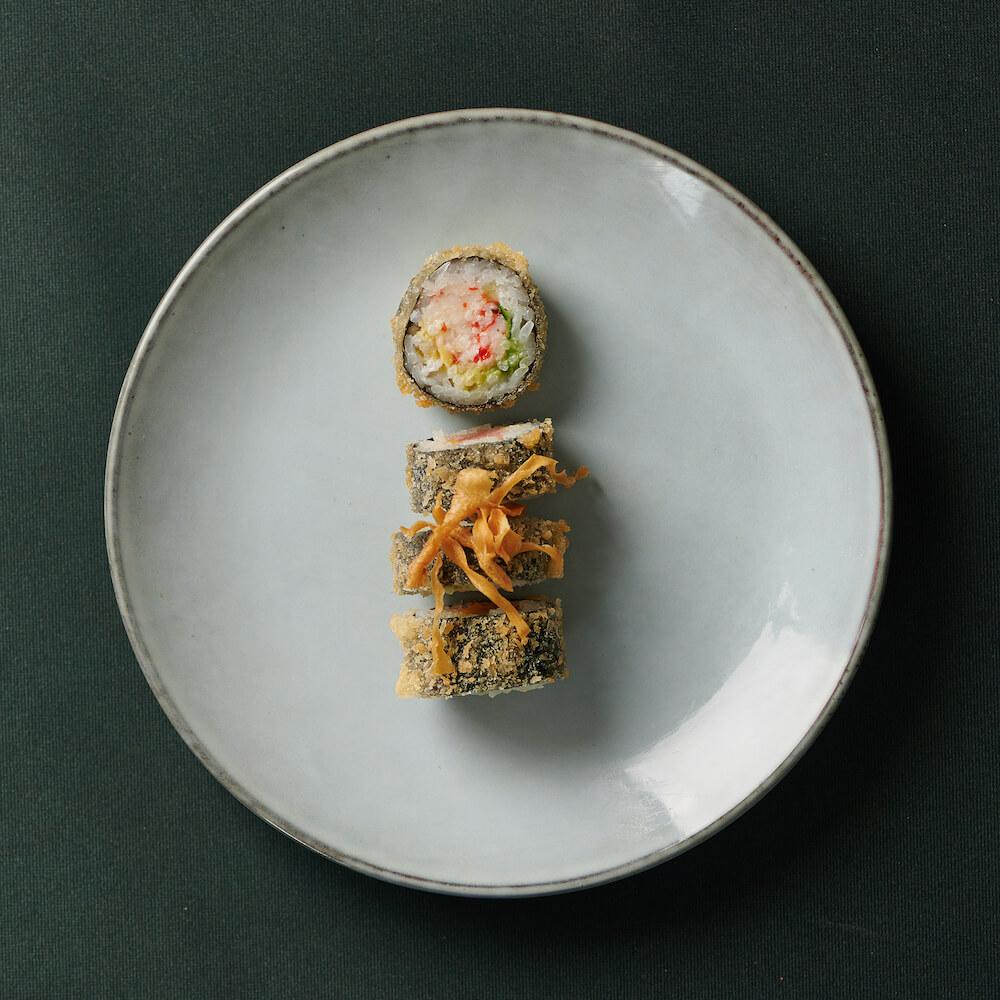Shrimp crunch maki